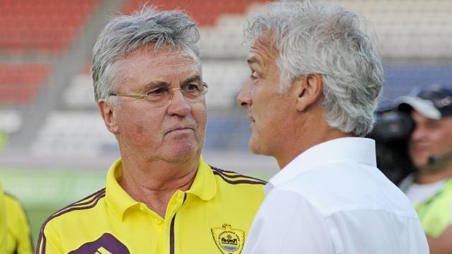 Главный тренер «Анжи» Гус Хиддинк остался доволен игрой своей команды в первом матче 3-го квалификационного раунда Лиги Европы против «Витесса».